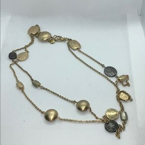 Alfani long chain or double necklace